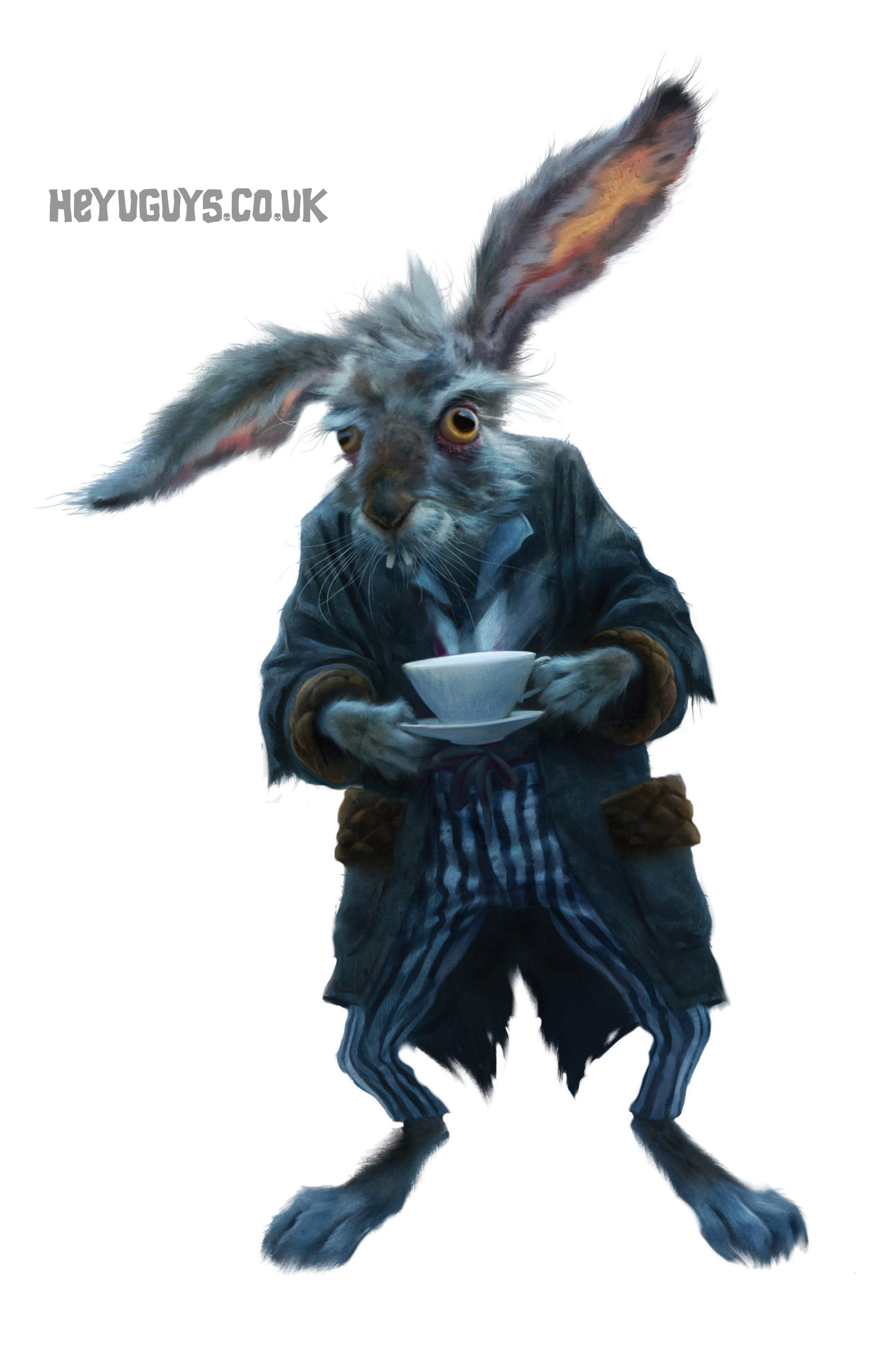 alice in wonderland - march hare concept art