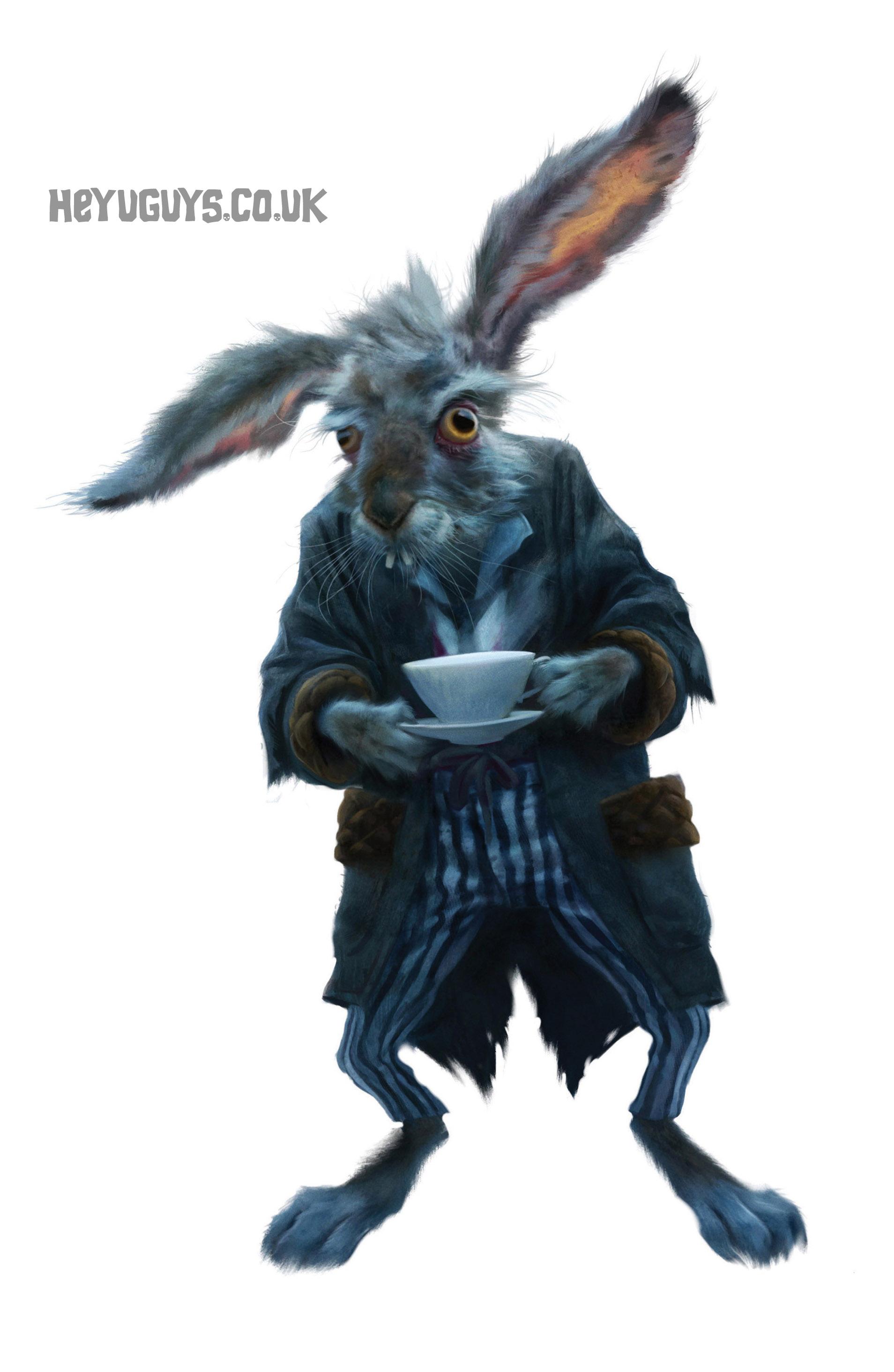 ALICE IN WONDERLAND - March Hare Concept Art - HeyUGuys