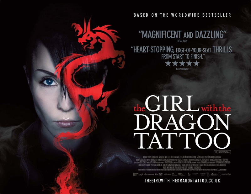 The girl with the dragon tattoo poster heyuguys for The girl with the dragon tattoo story