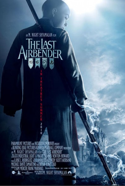 The Last Airbender: Book Water The-Last-Airbender-Banner-1-403x600