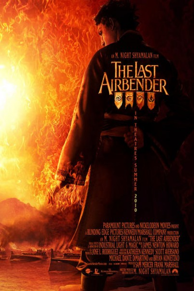 The Last Airbender: Book Water The-Last-Airbender-Banner-2-402x600