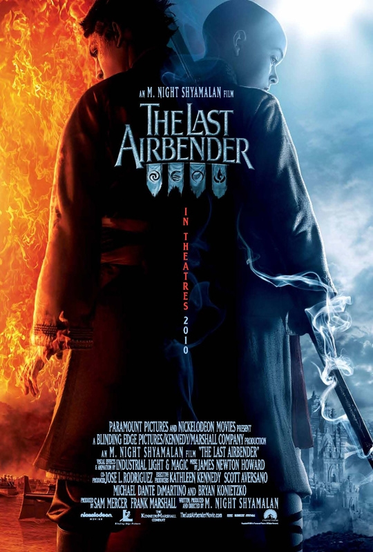 Posters ταινιών - Σελίδα 4 The-Last-Airbender-International-Poster