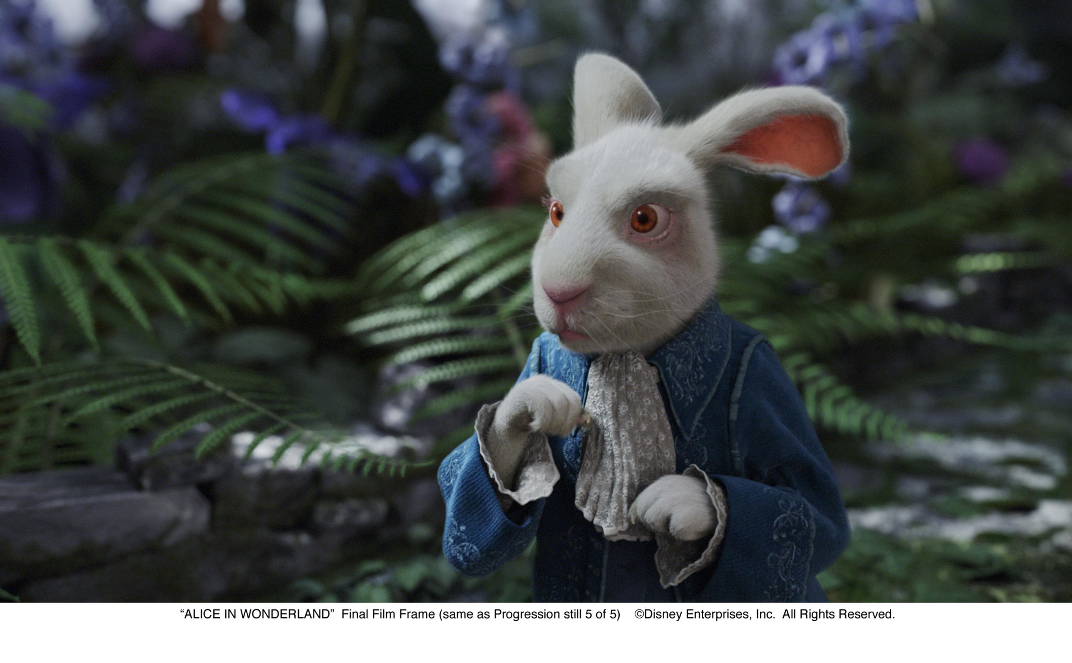alice in wonderland character descriptions 2010