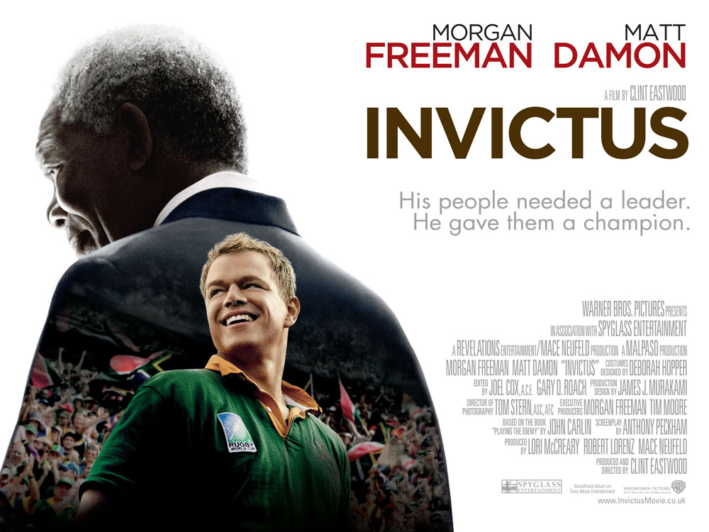 invictus review As a south african, i can tell you the entertaining, inspiring and enjoyable invictus exceeded all my expectations.