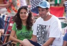 Grown Ups - Salma Hayek and Adam Sandler