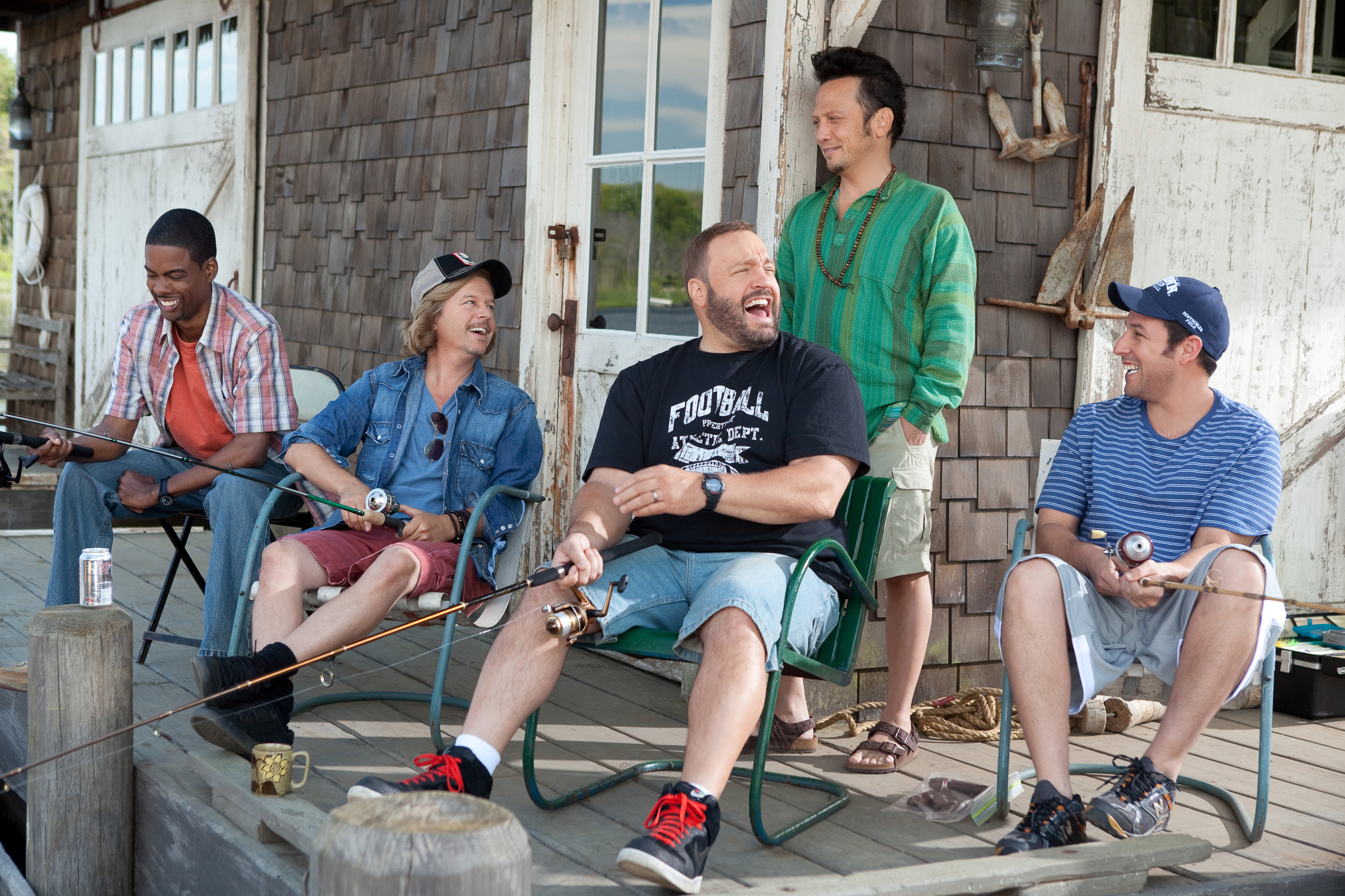 New Images from Adam Sandler's Grown Ups - HeyUGuys