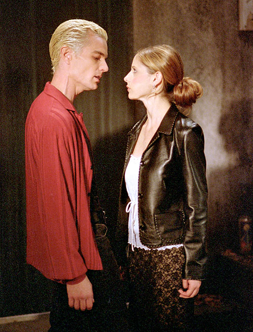 Spike alias William Le Sanguinaire de Buffy contre les vampires et Angel Spike-and-Buffy
