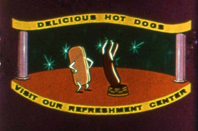 Dancing Hot Dogs Animated Gif
