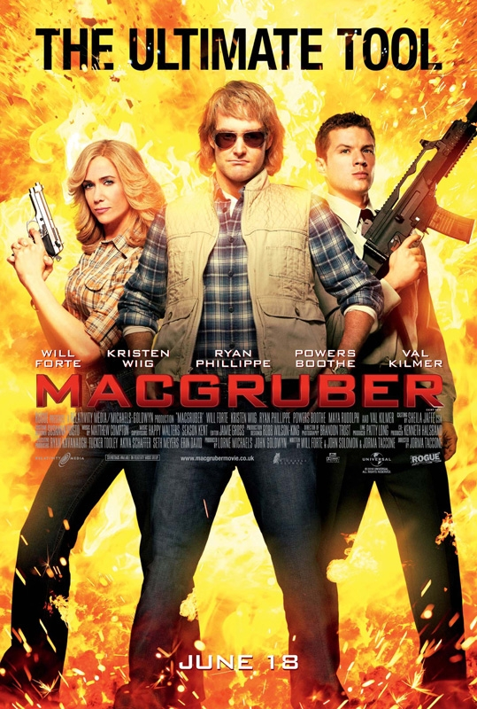 New UK Posters for MacGruber Released - HeyUGuys