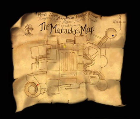 harry potter marauders map heyuguys