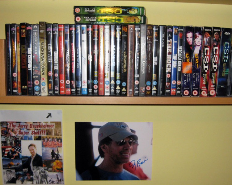 Dave's Jerry Bruckheimer Super Shelf