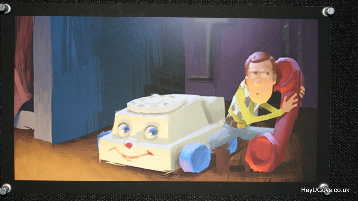 Toy Story Original Concept Art Toy Story 3 Concept Art-16