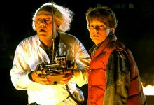 Back to the Future - Doc Brown and Marty McFly