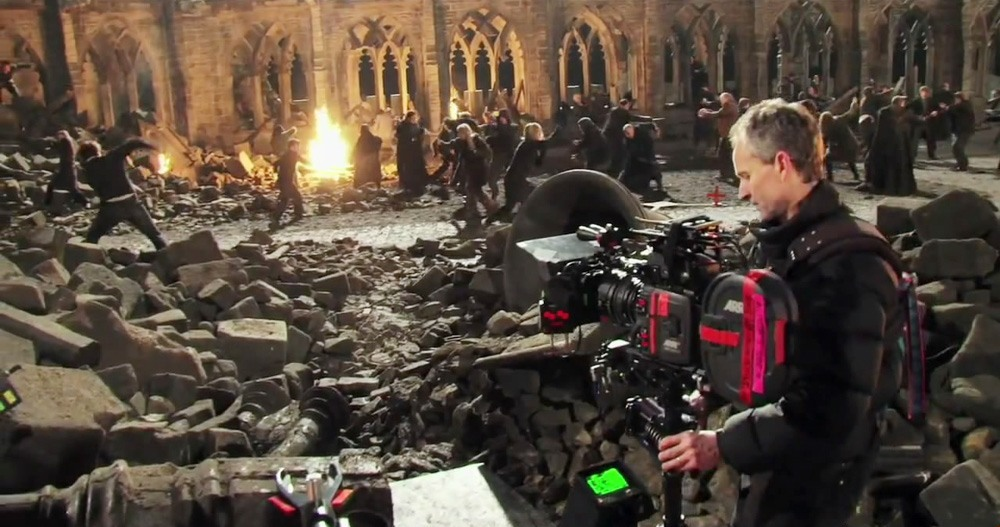 New Harry Potter and the Deathly Hallows Behind the Scenes Images