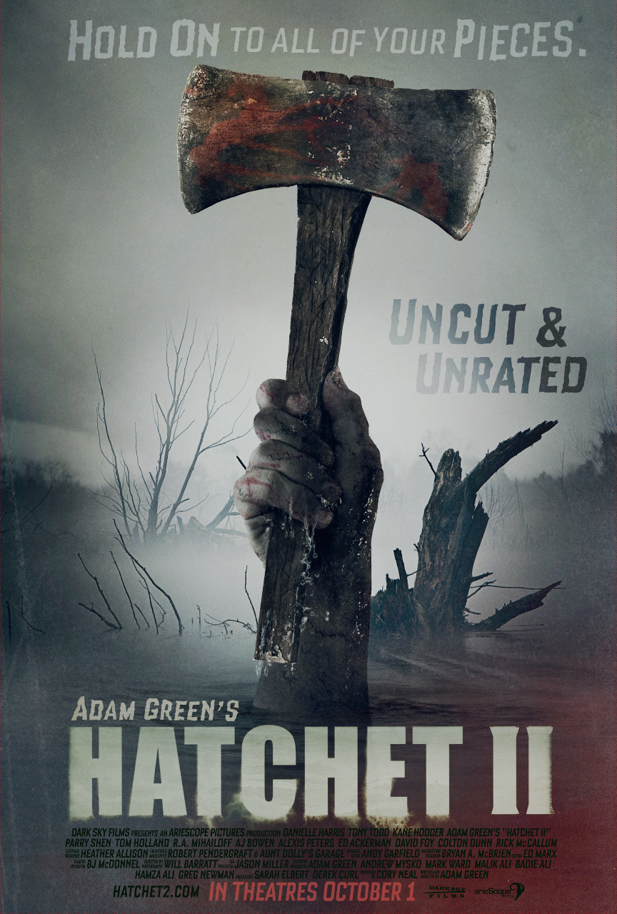Hatchet 2 poster wet beaver cam for some Pussy