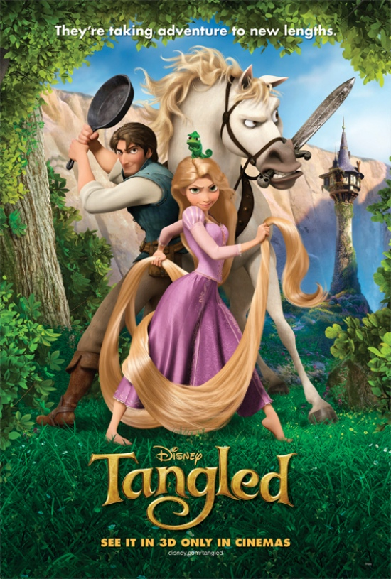 "New Disney film ""Tangled"""