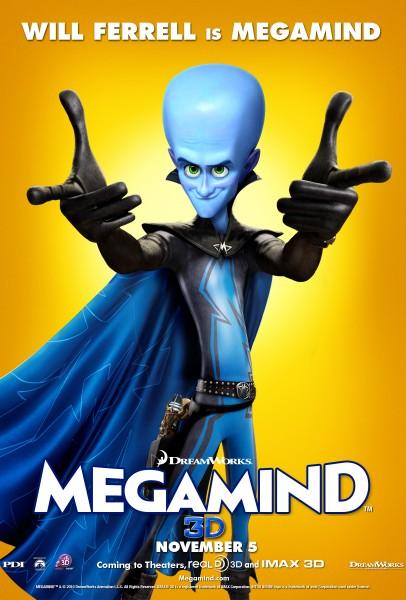 [DreamWorks] MegaMind (2010) Mega-406x600