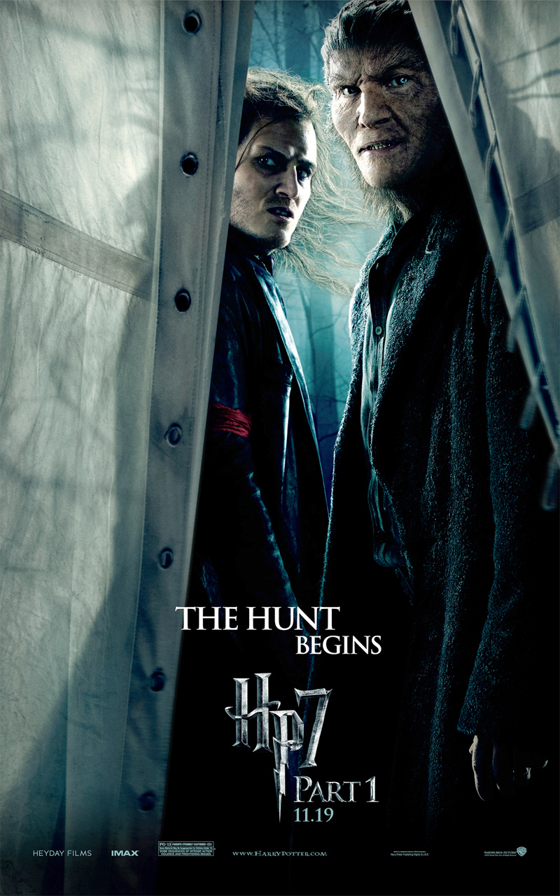 new harry potter and the deathly hallows part 1 character posters the