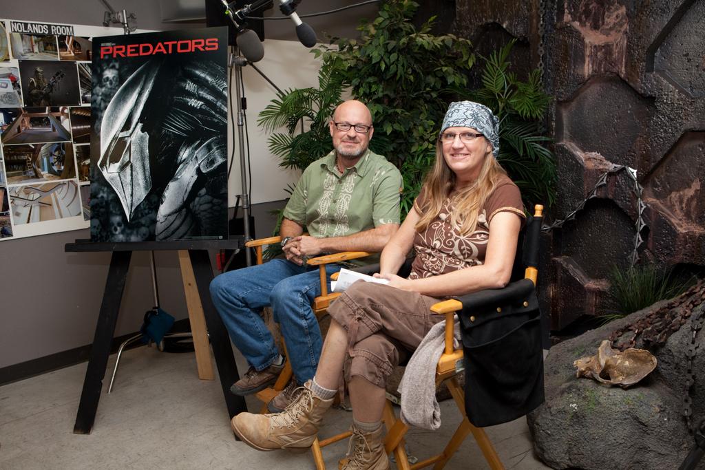 Predators Video Interview With Production Designers Steve