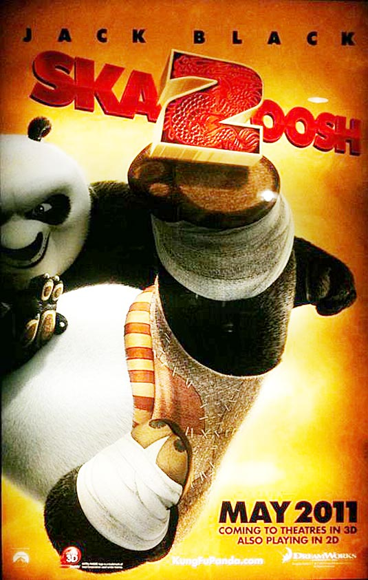 the first teaser trailer and poster for kung fu panda 2