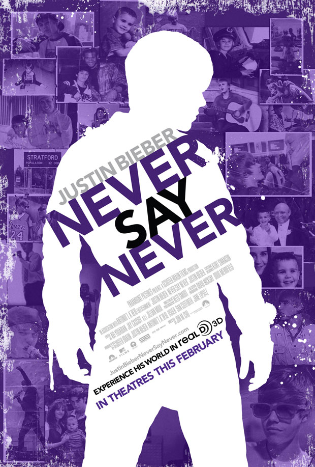 bieber never say never poster. Never Say Never Poster for All