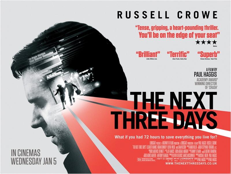 The Next Three Days - HeyUGuys
