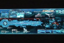 Tron Legacy 3d World Map