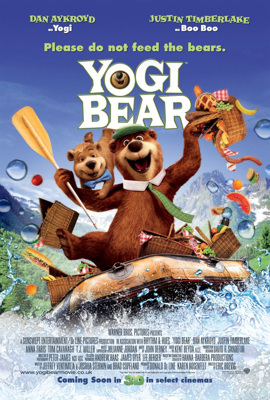 Yogi Bear Movie Poster Controversy Yogi Bear Poster 3 - H...