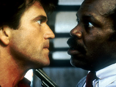 lethal weapon- Danny Glover and Mel Gibson