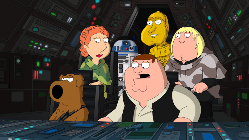 Exclusive Featurette From Family Guy It S A Trap Heyuguys