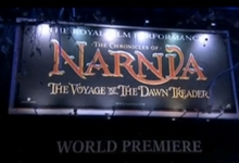 narnia voyage of dawn treader premiere