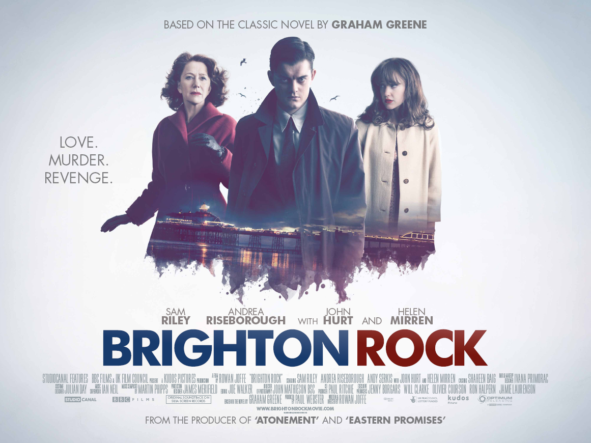 """brighton rock book review Following on from our book group's choice for last month, """"rebecca"""" – you can read my review of that novel here – march's choice was """"brighton rock"""" by graham greene, first published in 1938."""