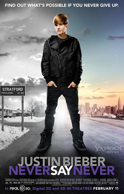 justin bieber never say never poster. If You Never Give Up#39;.