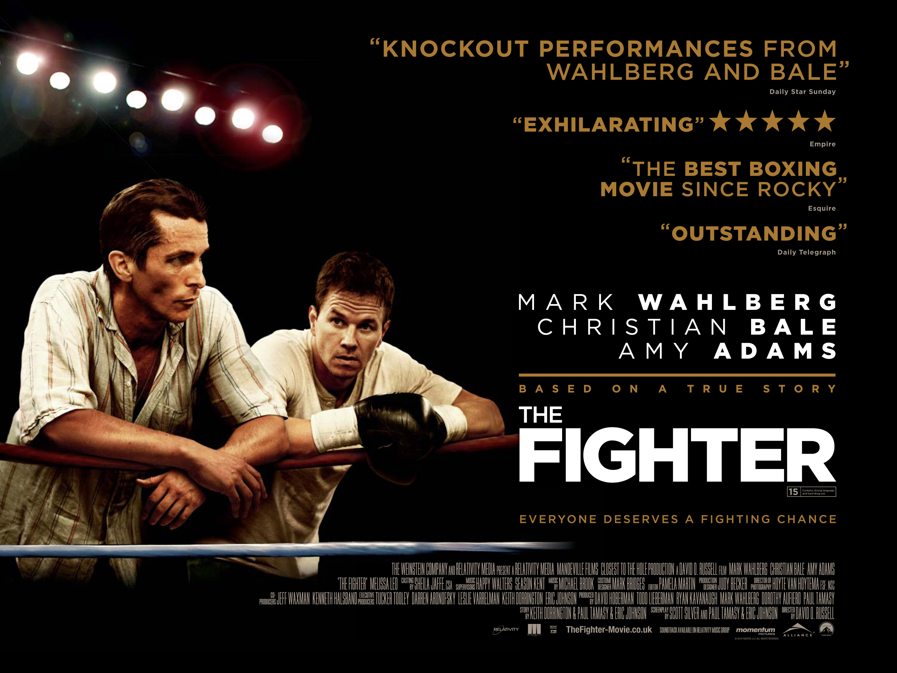 The Fighter poster.