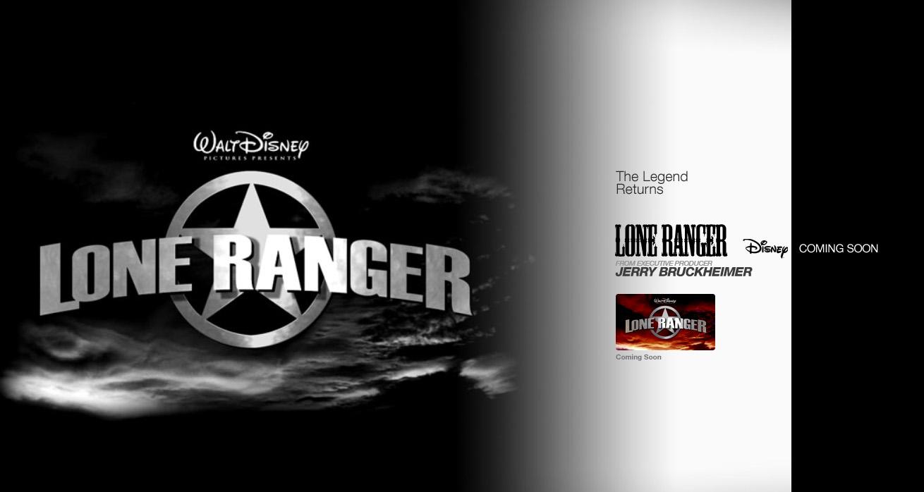 [Disney] Lone Ranger : Naissance d'un Héros (2013) The-Lone-Ranger-Logo