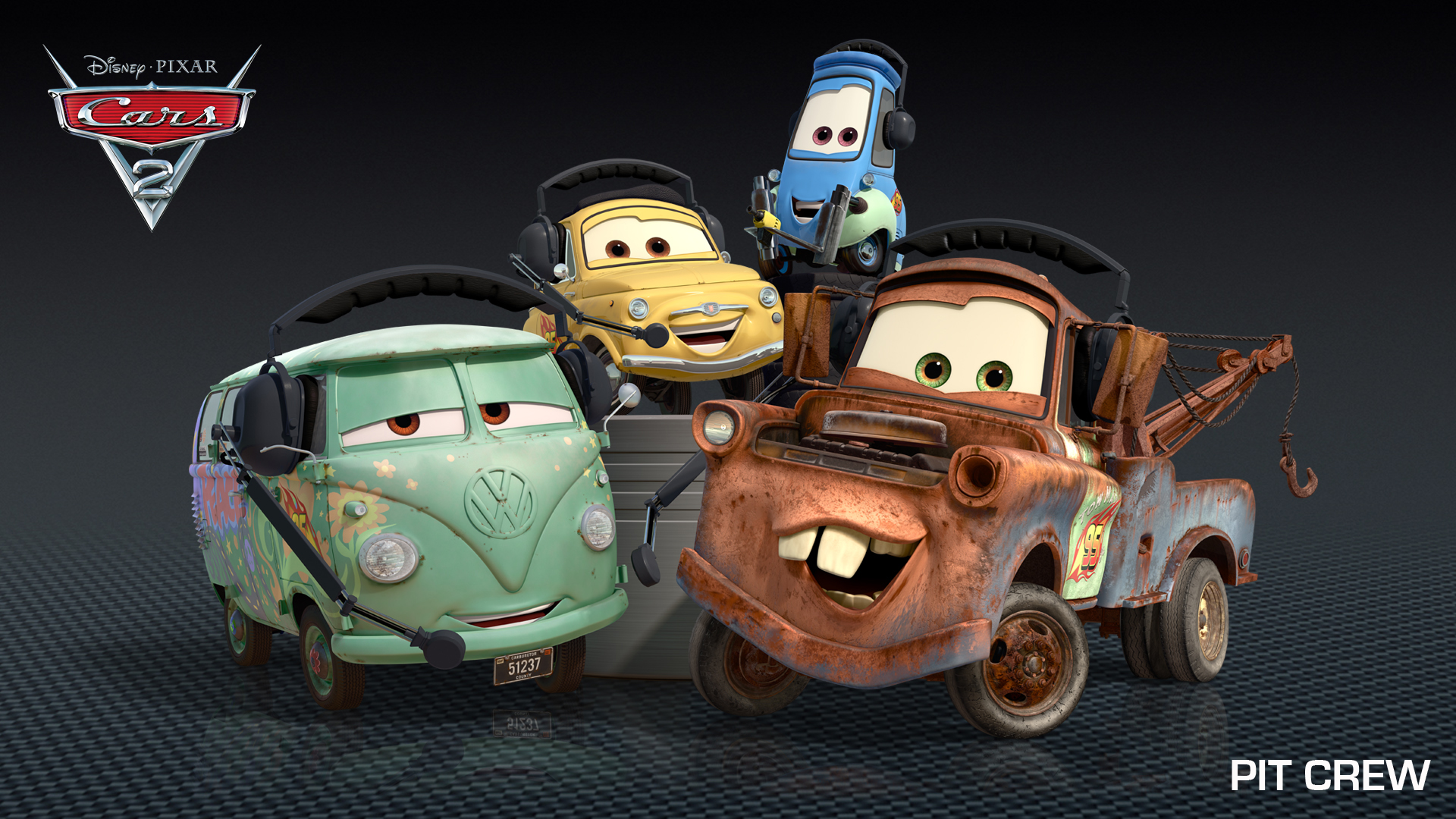 Cars 2 Characters Images & Descriptions