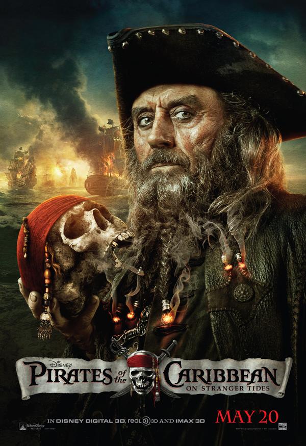 Blackbeard And Barbossa Bonanza In New Pirates Of The