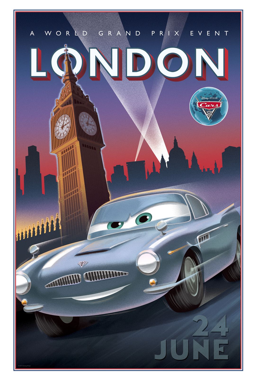 Awesome New Cars 2 Vintage Posters - HeyUGuys