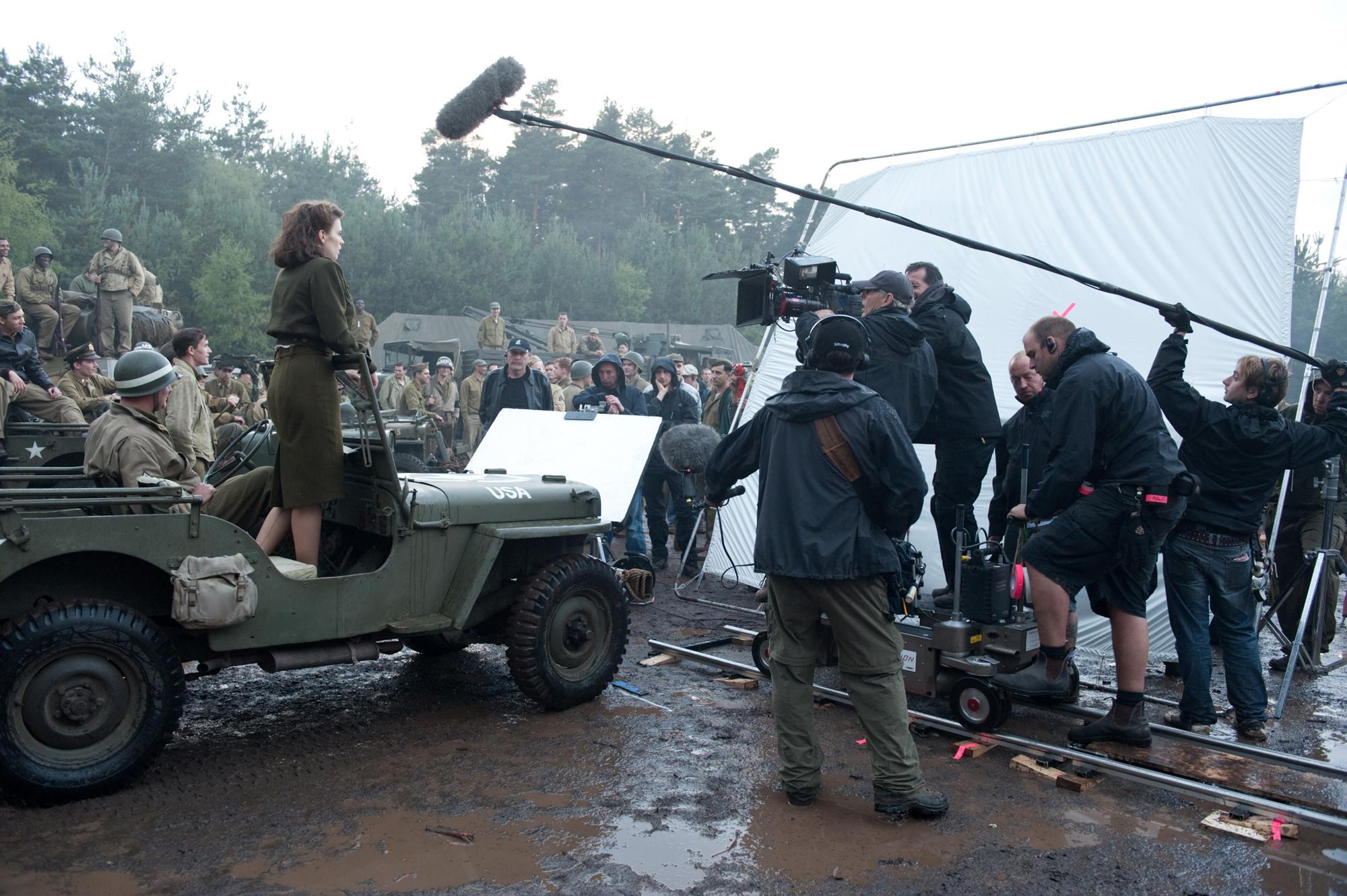 Captain America Set Photo - Bourne Wood - HeyUGuys