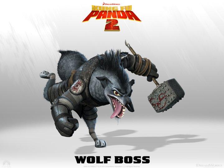 Kung Fu Panda 2 - Wolf Boss - HeyUGuys
