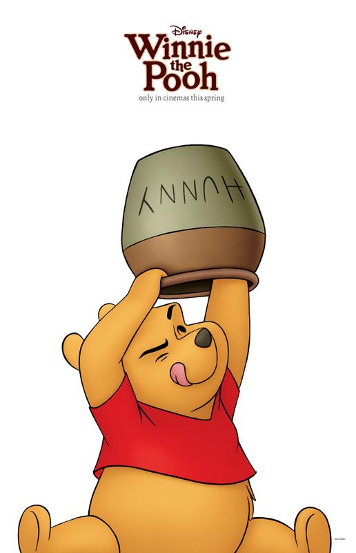 New winnie the pooh character posters heyuguys