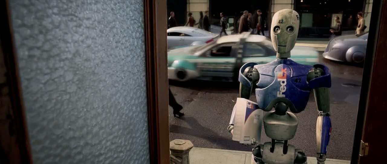 I Robot Fedex Heyuguys