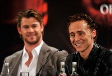 Thor UK Press Conference - Kenneth Branagh, Chris Hemsworth & Tom Hiddleston-29