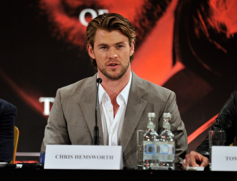 Thor UK Press Conference - Kenneth Branagh, Chris Hemsworth & Tom Hiddleston