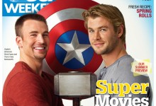 USA Weekly - Chris Hemsworth & Chris Evans