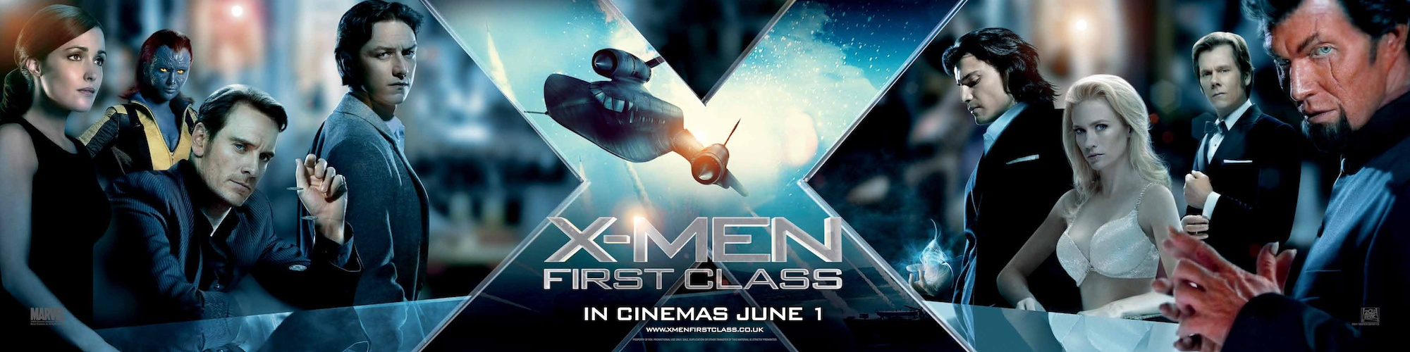 New X-Men: First Class Poster, Character Banner and DVD ...