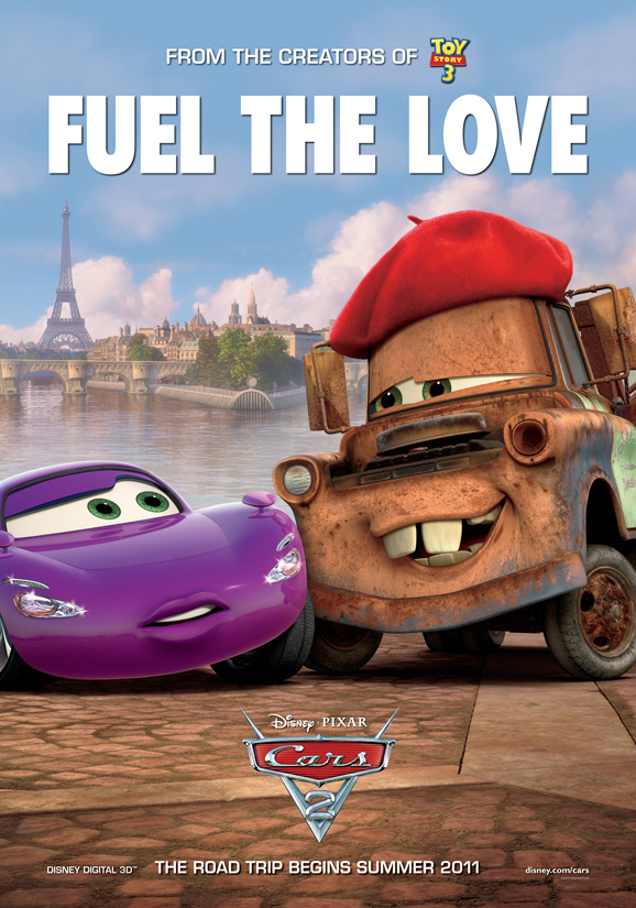 Movie Poster jungle book movie poster : cars 2 poster 2 - HeyUGuys