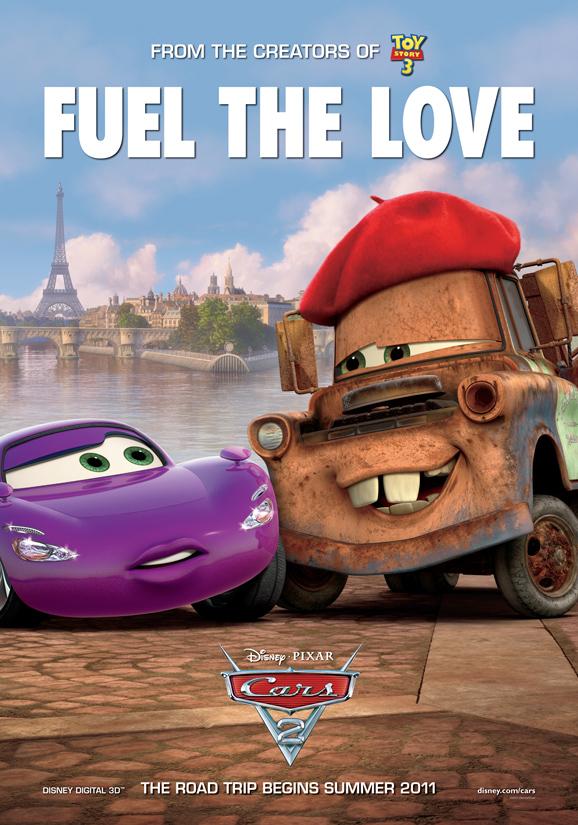 cars 2 poster 2 - HeyUGuys