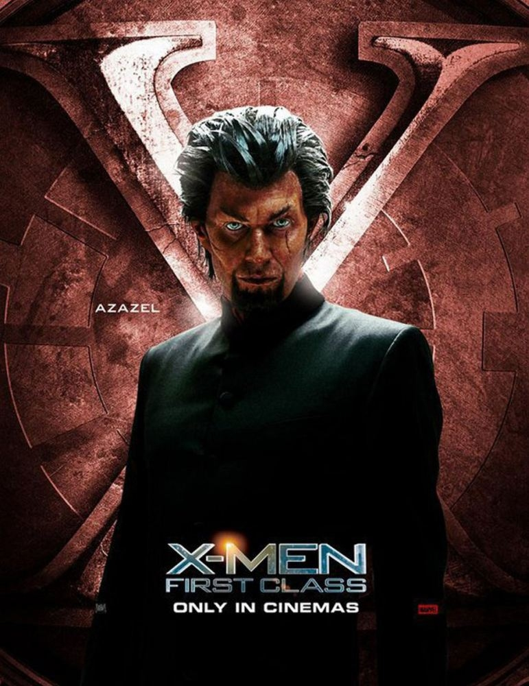 azazel from the latest x men X Men First Class Characters Names