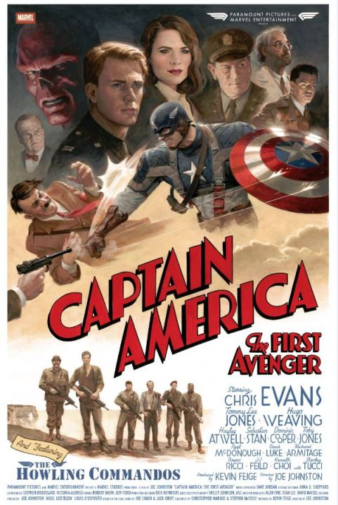 poster for Captain America